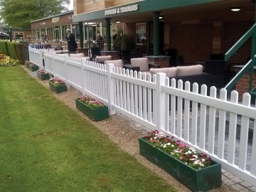 watt plastics permanent picket fencing
