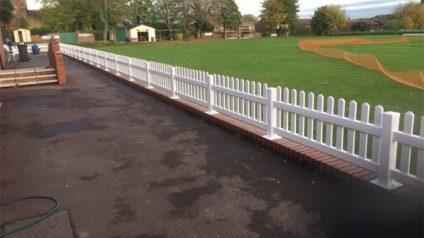 watt plastics sports fields pvc barriers