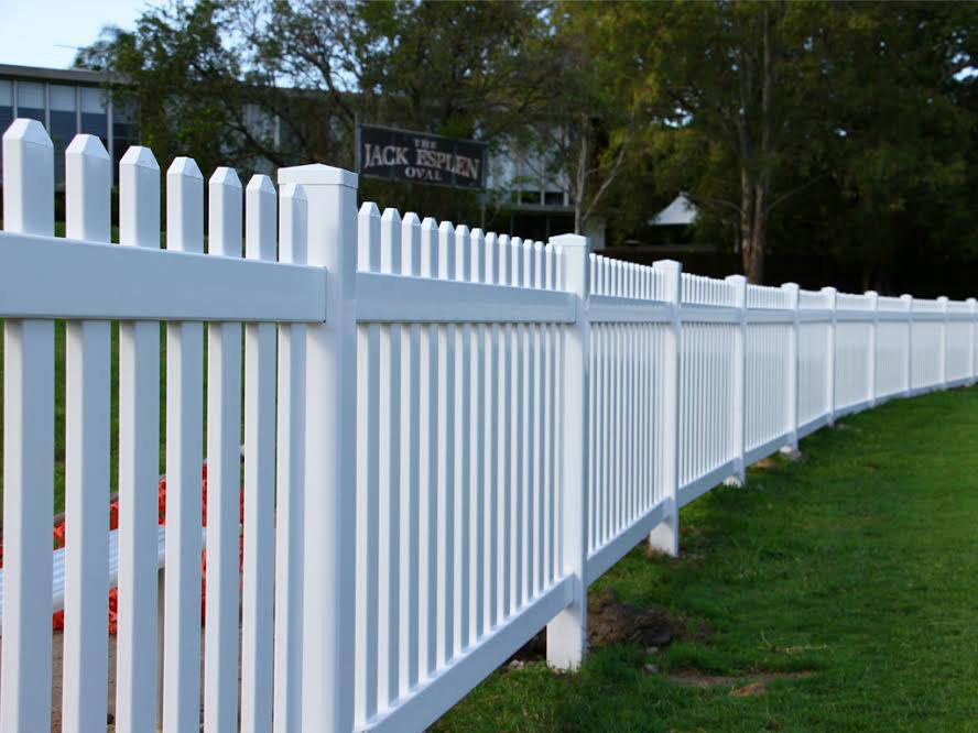 Permanent Picket Fencing