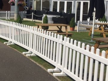 Portable Picket Fencing