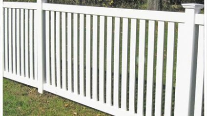 Flat Top Picket Fencing
