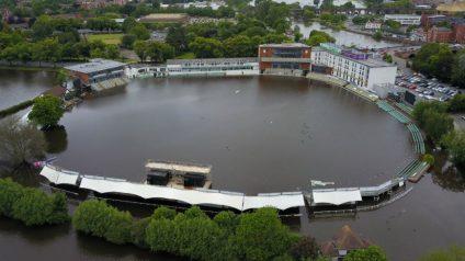 Cricket Ground Flood Pic 1