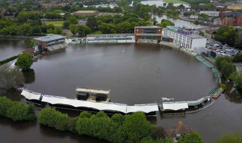 Cricket Ground Flood Pic 1