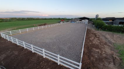 PVC Post and Rail Fencing