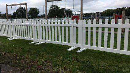 Social Distancing Picket Fencing