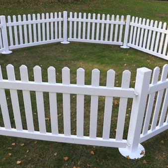Temporary Picket Fencing