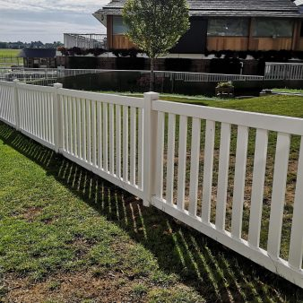 Flat Top Picket Fence
